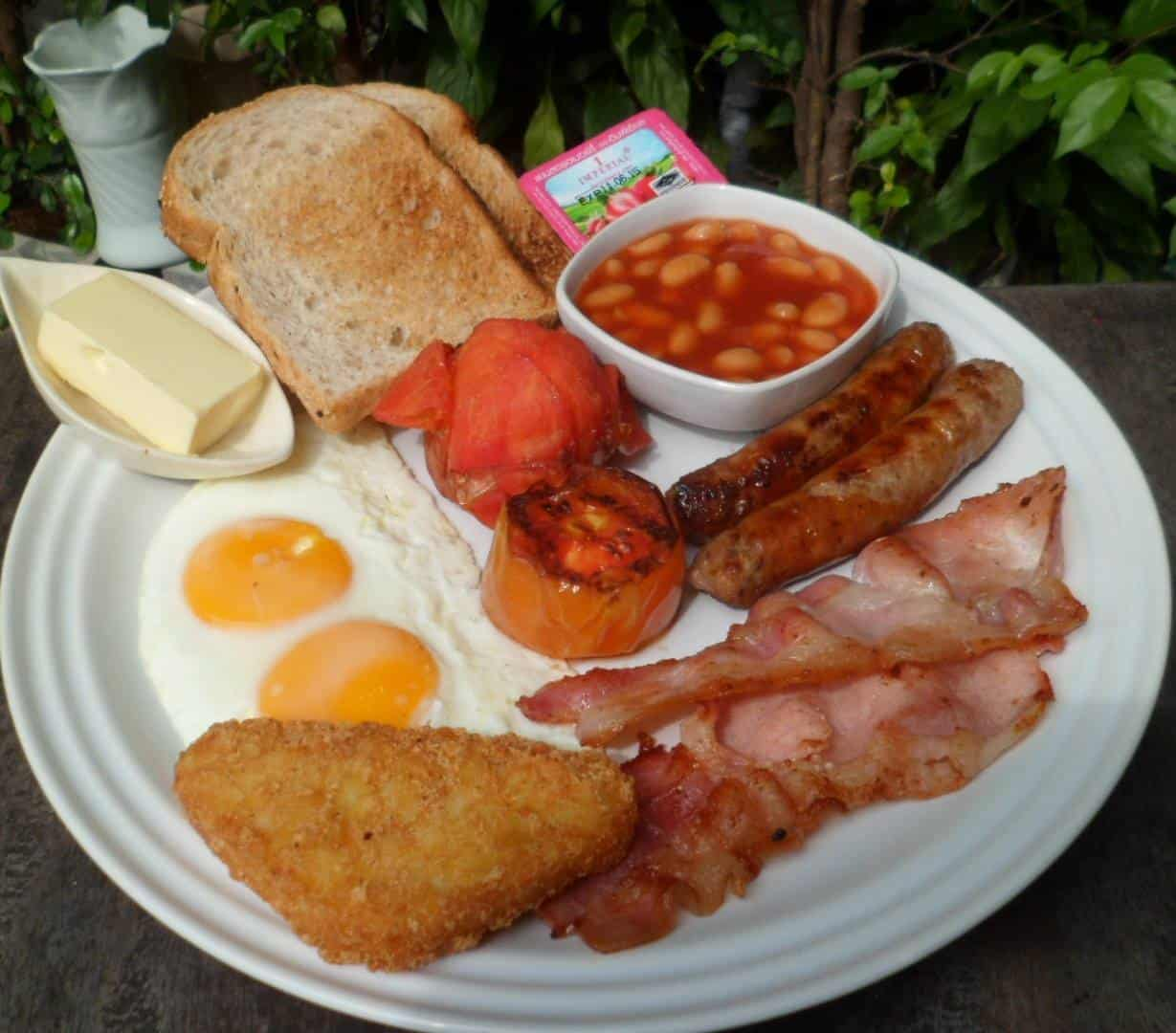Traditional Full English Breakfast: 6 Of The Best Full English Breakfasts In Chiang Mai